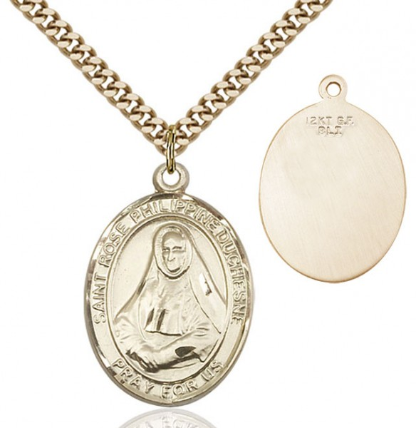 St. Rose Philippine Medal - 14KT Gold Filled