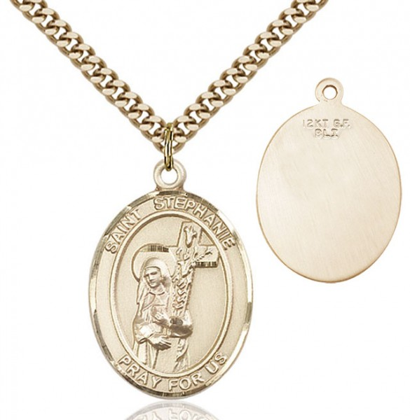 St. Stephanie Medal - 14KT Gold Filled