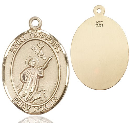 St. Tarcisius Medal - 14K Yellow Gold