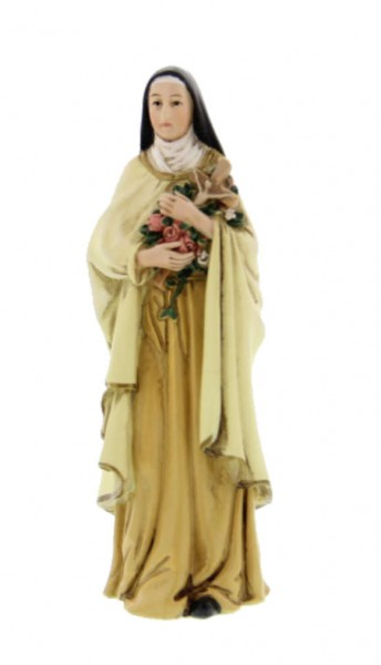 "St. Therese Statue 4"" - Multi-Color Browns"