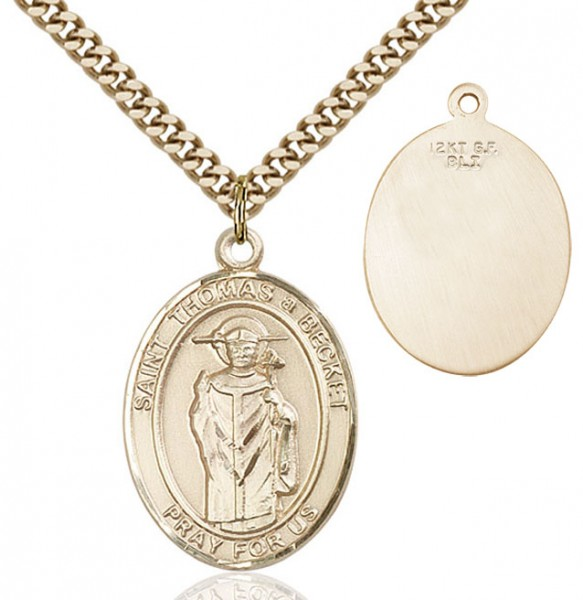 St. Thomas Becket Medal - 14KT Gold Filled