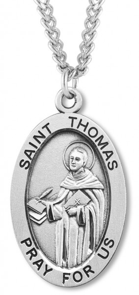 St. Thomas Medal Sterling Silver - Silver