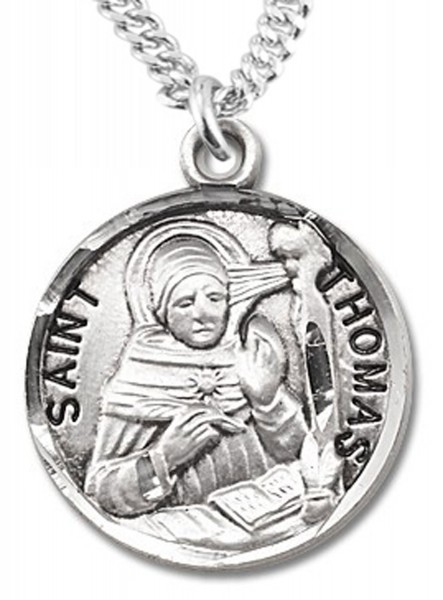 St. Thomas More Medal - Sterling Silver