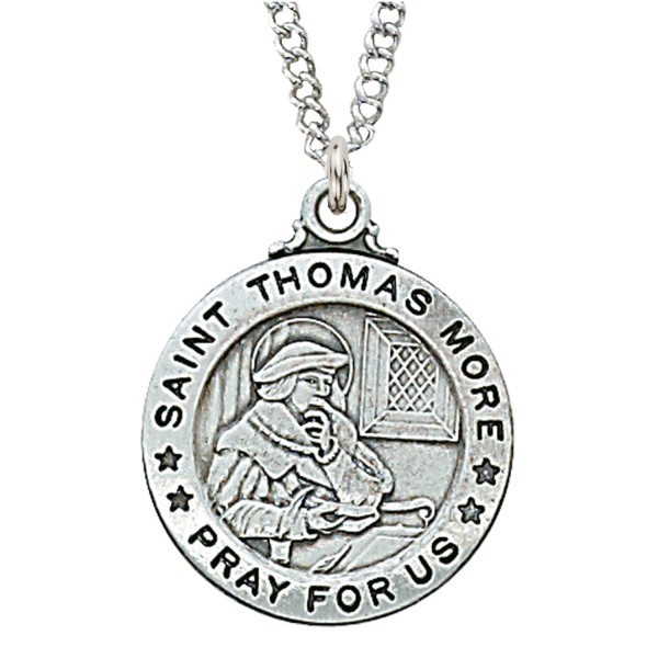 St. Thomas More Medal - Silver