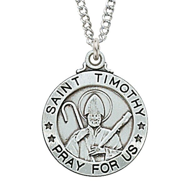 St. Timothy Medal - Silver