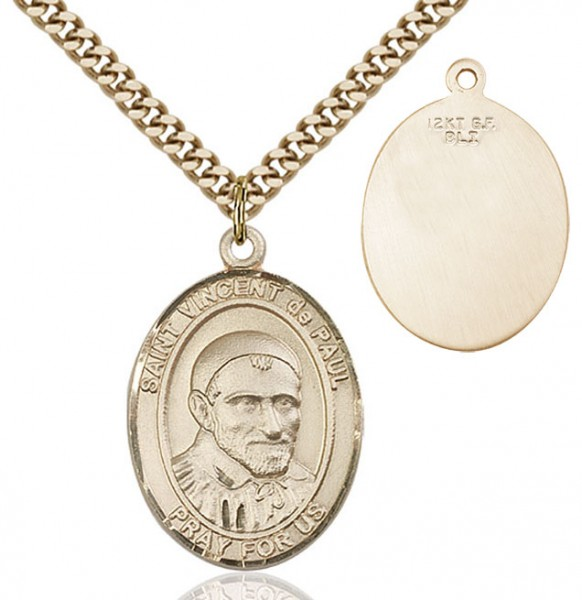 St. Vincent de Paul Medal - 14KT Gold Filled