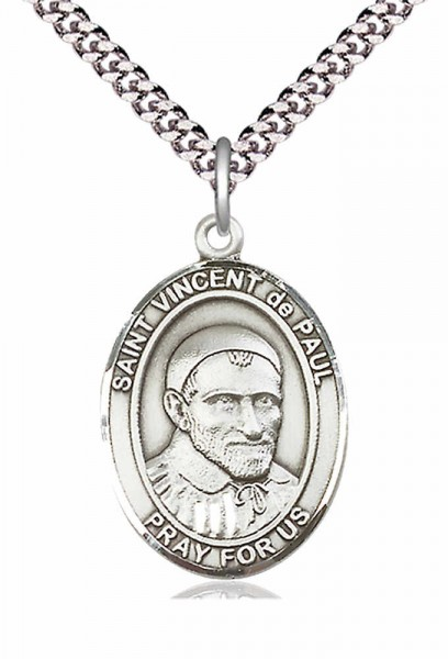 St. Vincent de Paul Medal - Pewter