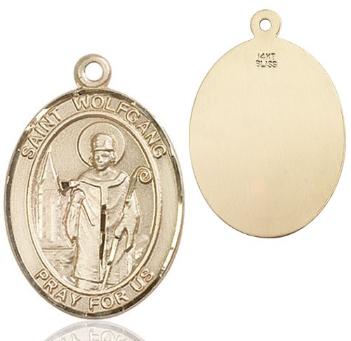 St. Wolfgang Medal - 14K Yellow Gold