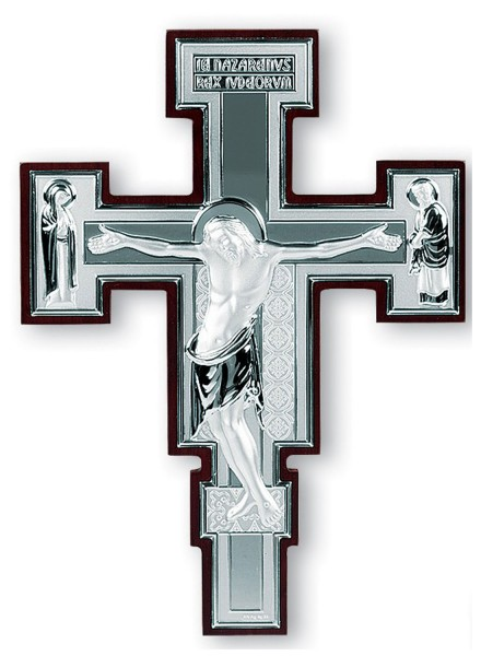 Sterling Silver Crucifix - 2 Sizes Available - Silver