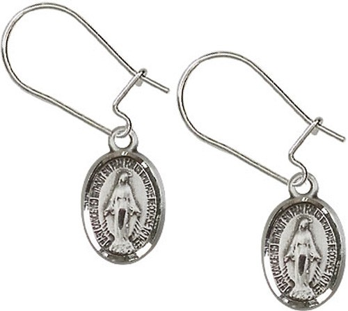 Sterling Silver Miraculous Dangle Earrings - Sterling Silver