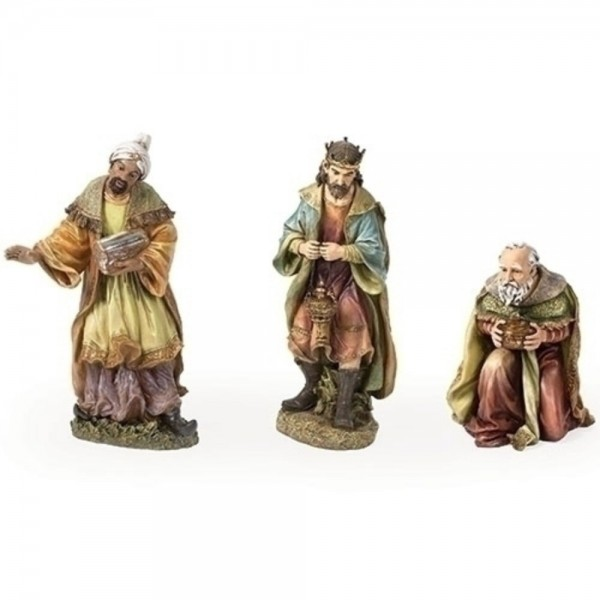 Three-piece Wise Man Set, Full Color, 26.5 inches - Full Color