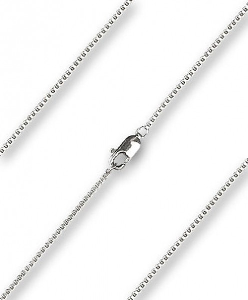 Women's Venetian Box Chain with Clasp - Sterling Silver