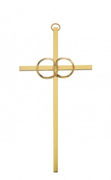 Wedding Cana Cross Gold tone, 10 Inch - Gold Tone