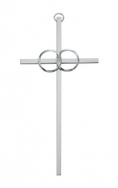 Wedding Cana Cross Silver tone, 10 Inch - Silver