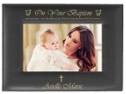 Baptism Photo Frame Personalized Horizontal