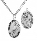 Men's St. Sebastian Hockey Medal Sterling Silver