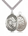 Boys St. Sebastian Ice Hockey Pendant [EN6538]