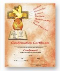 Confirmation Certificate with Gifts of the Spirit