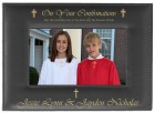 Confirmation Photo Frame Personalized Horizontal