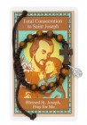 Consecration to St Joseph Prayer Card and Bracelet Set