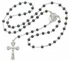 Ecce Homo Hematite Rosary