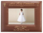 First Communion Photo Frame Personalized Horizontal