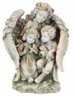 Garden Angel with Children Statue - 15.75""