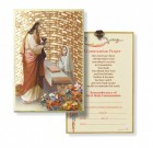 Girl's First Holy Communion Gold Leaf Plaque