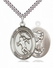 Girl's St. Christopher Track and Field Medal