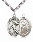 Girl's St. Sebastian Track & Field Medal