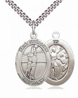 Saint Sebastian Volleyball Medal
