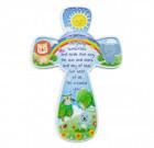 God's Little Creations Poly Resin Cross