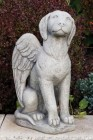 Guardian Angel Dog Statue 17 Inches