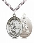 Guardian Angel Soccer Patron Saint Medal
