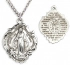 Hail Mary Miraculous Pendant