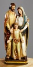 Holy Family 12 Inch High Statue