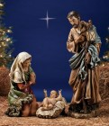 """Holy Family Nativity Figures 39"""" Scale"""