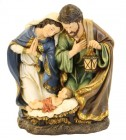 Holy Family Statue with Lantern 15""