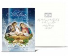 Holy Family Winter Scene Christmas Card Set