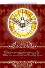 Holy Spirit Confirmation Greeting Card