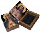 Immaculate Heart Sacred Heart Keepsake Box