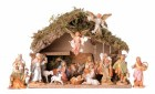 Italian Style Nativity Set with 5 inch figures - 16 pieces