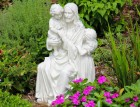 Jesus and the Children Garden Statue
