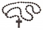 Jujube Wood 5 Decade Rosary 3 Sizes Available