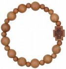 Jujube Wood Rosary Bracelet - 10mm