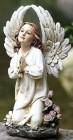 """Kneeling Angel Garden Statue -  15 3/4""""H"""