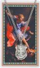 Large St. Michael Prayer Shield Prayer Card