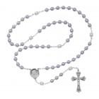Lavender Enamel Rosary