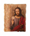 Lord's Prayer Small Wooden Plaque