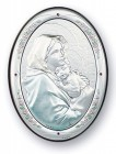 Madonna of the Street Sterling Silver Plaque: Available in 3 Sizes